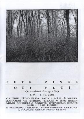 Petr Zinke: Oči vlčí