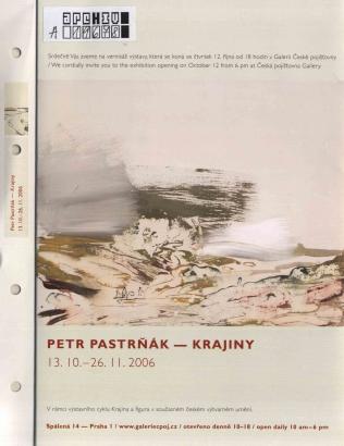 Petr Pastrňák: Krajiny