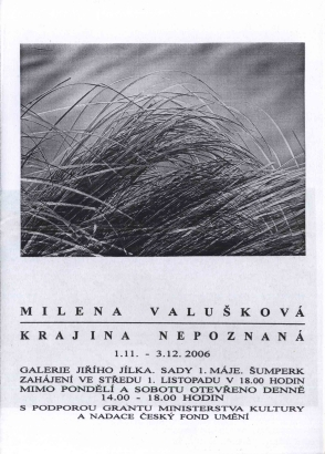 Milena Valušková: Krajina nepoznaná