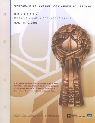 Kolářský: Medaile mince a sochařské práce