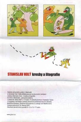 Stanislav Holý: Kresby a litografie