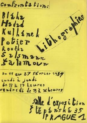 Confrontation: Lithographies