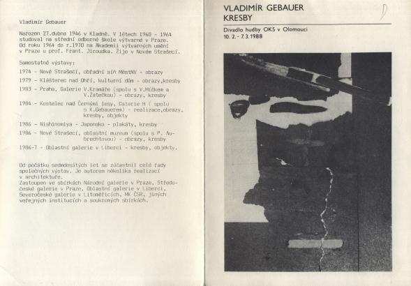 Vladimír Gebauer: Kresby