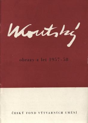 Václav Koutský: Obrazy z let 1957 - 1958
