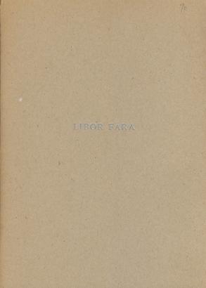 Libor Fára 1925 - 1988