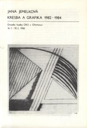Jana Jemelková: Kresba a grafika 1982 - 1984