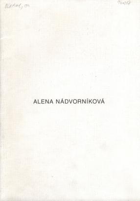 Alena Nádvorníková: Kresby / Dessins