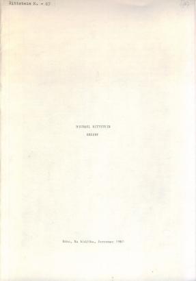 Michael Rittstein: Kresby