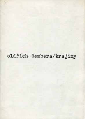 Oldřich Šembera: Krajiny