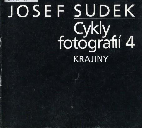 Josef Sudek: Cykly fotografií 4