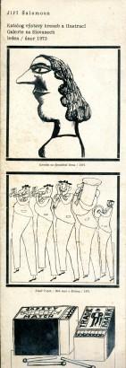 Jiří Šalamoun: Kresby a ilustrace