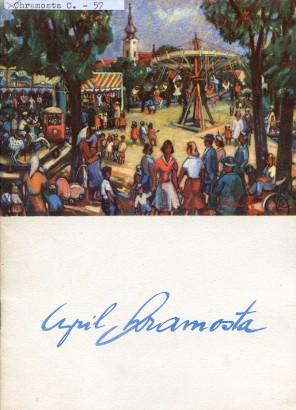 Cyril Chramosta: Výstava prací z let 1949 - 1957
