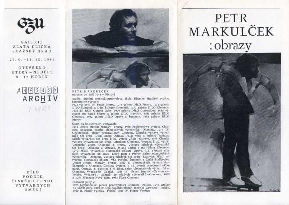 Petr Markulček: Obrazy