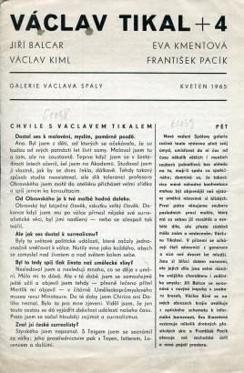Václav Tikal + 4