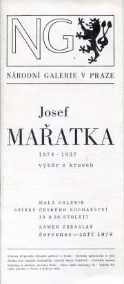 Josef Mařatka 1874-1937: Výběr z kreseb