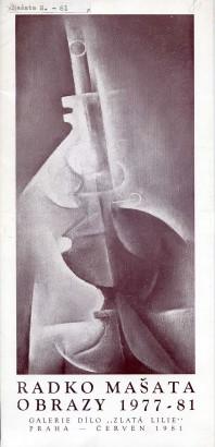Radko Mašata: Obrazy 1977-81