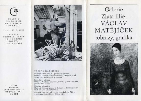 Václav Matějíček: Obrazy, grafika