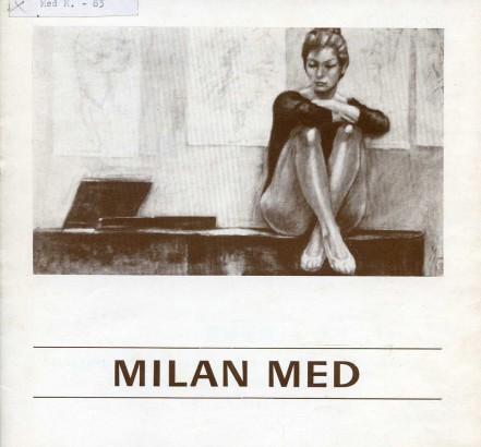 Milan Med: Obrazy a kresby žen 1962-1982