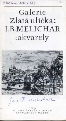 J. B. Melichar: Akvarely