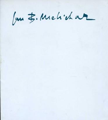 Jan B. Melichar: Výběr z díla 1950-1988