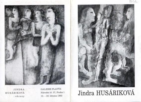 Jindra Husáriková: Obrazy