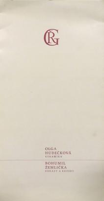 Olga Hudečková: Keramika, Bohumil Žemlička: Obrazy a kresby