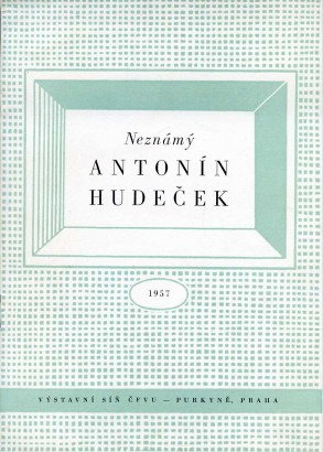 Neznámý Antonín Hudeček