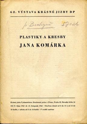 Plastiky a kresby Jana Komárka