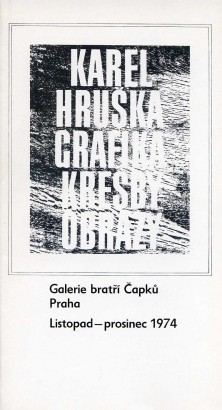Karel Hruška: Grafika, kresby, obrazy