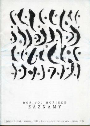 Bořivoj Hořínek: Záznamy