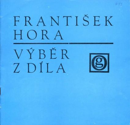 František Hora: Výběr z díla