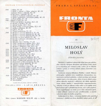Miloslav Holý: Chvála pastelu