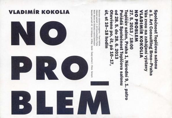 Vladimír Kokolia: No problem
