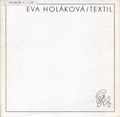 Eva Holáková: Textil