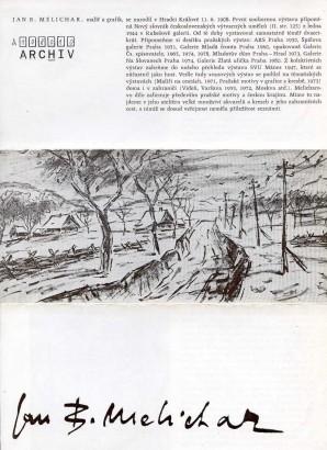 Jan B. Melichar: Akvarely