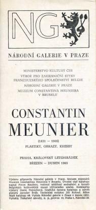 Constantin Meunier: Plastiky, obrazy, kresby