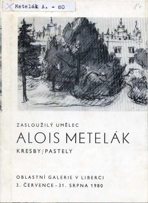 Alois Metelák: Kresby, pastely