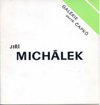Jiří Michálek: Obrazy, grafika