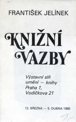 František Jelínek: Knižní vazby