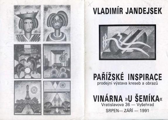 Vladimír Jandejsek: Pařížské inspirace