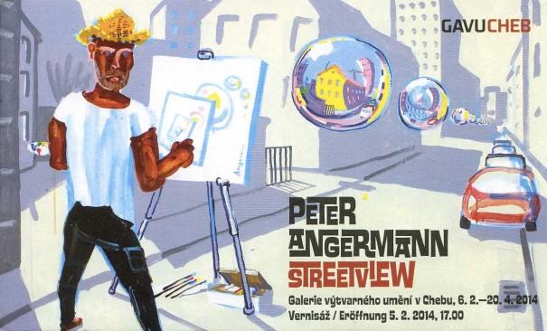 Peter Angermann: Streetview