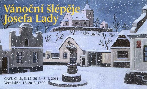 Vánoční šlépěje Josefa Lady
