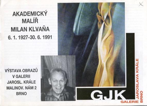 Milan Klvaňa: Obrazy