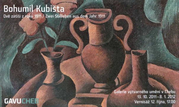 Bohumil Kubišta: Dvě zátiší z roku 1911 / Zwei Stillleben aus dem Jahr 1911
