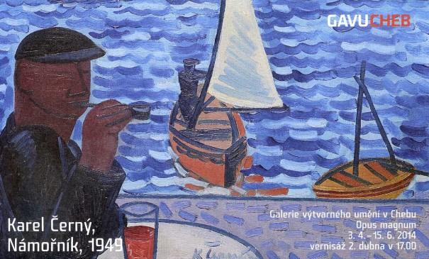Karel Černý: Námořník, 1949