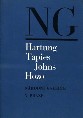 Hartung, Tapies, Johns, Hozo