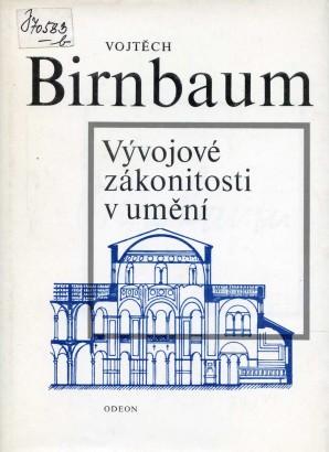 Birnbaum, Vojtěch - Vývojové zákonitosti v umění