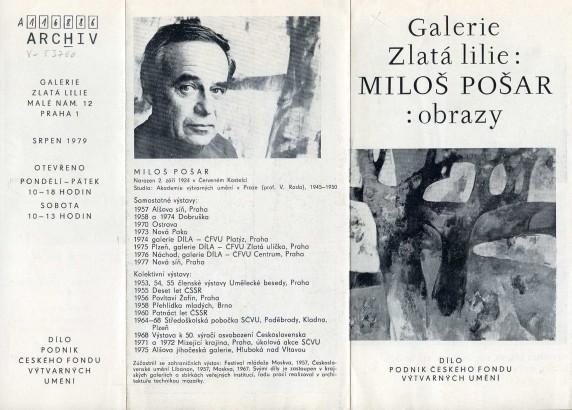 Miloš Pošar: Obrazy