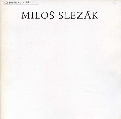 Hlušička, Jiří - Miloš Slezák