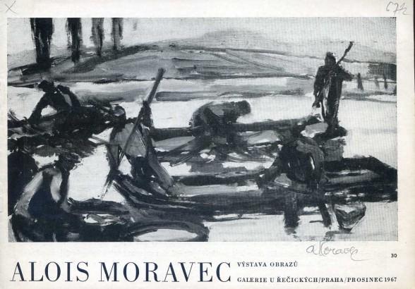 Alois Moravec: Výstava obrazů